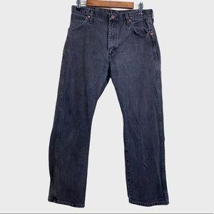 Wrangler Vintage Black 100% Cotton Straight Jeans